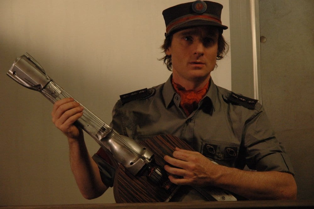 Ethan Gold Playing a Soldier